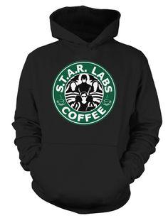 The Flash star laboratories Coffee, Shirt, Sweatshirt, Mug and Hoodie Available! Started $8 for Mug and $14 for shirt