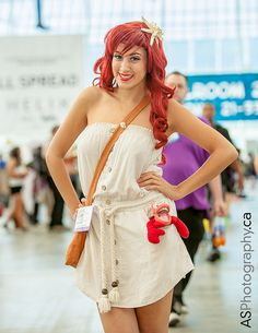 YES!  this would be a fun running costume Ariel | SDCC 2013
