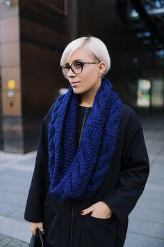 Snood | Knitted scarf | Infinity scarf | Chunky scarf | Shalf | Loop scarf | Hoodie | Alpaca wool | Designer's scarf | Kotè design by KoteStudio on Etsy