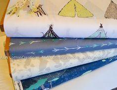 Panda Fabric, Quilters Fabric, Designer Cotton Bundle of 4, Art Gallery Fabrics, Turquoise Fabric, Dusty Blue Fabric, Apparel Fabric Turquoise Fabric, Blue Fabric, Fabric Yarn, Art Gallery Fabrics, Dusty Blue, Fabric Design, Panda, Knitting Patterns, Quilts