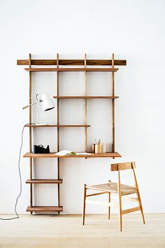The Wall Mounted Modular Shelving 26 Uberstylish Modular Wall Mounted Shelving Systems Vurni Home Remode 2018 House Apartment Decor online room Inspiration interior covers ideas modern and interior exterior garden plan furniture images Modular Walls, Modular Shelving, Shelving Systems, Track Shelving, Storage Shelving, Shelving Ideas, Adjustable Shelving, Bookshelf Desk, Bookshelves