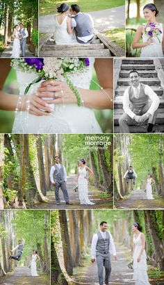 memory montage photography - BLOG: Apple Tree Wedding in Yakima - Omeed and Stacy