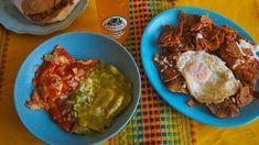 Tortilla Rolls, Tortilla Wraps, Mexican Burritos, Fried Corn Tortillas, Mexican Brunch, Small Coffee Shop, Huevos Rancheros, Brunch Dishes, Salsa Verde