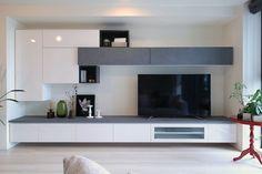9 mẫu kệ tivi cao cấp tạo cho không gian căn hộ vẻ đẹp ngất ngây Modern Tv Room, Modern Tv Units, Tv Wall Design, House Design, Living Tv, Bedroom Tv Wall, Living Room Tv Unit Designs, Muebles Living, Tv Wall Decor