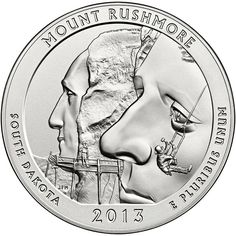 Trusted expert on Silver America The Beautiful 5 oz Coins. Buy 2013 Silver Mt Rushmore ATB online with Golden Eagle Coins. Call Trusted coin dealer since Rare Coins Worth Money, Valuable Coins, Bullion Coins, Silver Bullion, America The Beautiful Quarters, Coin Dealers, Silver Quarters, Quarter Dollar, Coin Worth