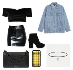 """""""Untitled #6"""" by miadoyle000 on Polyvore featuring Boohoo, Monki, ALDO and Chanel"""