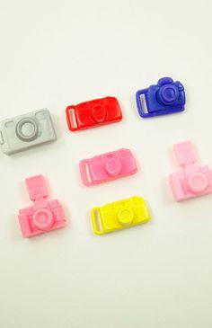 Barbie cameras....MANY cameras! In a ton o colors!