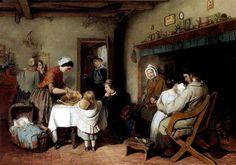 Christmas Visitors - 1860   William MacDuff