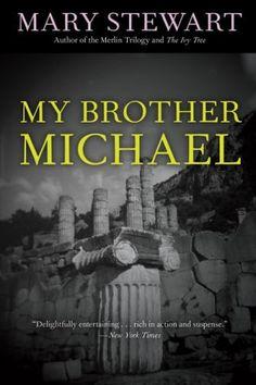 My Brother Michael (Rediscovered Classics) by Mary Stewart, http://www.amazon.com/dp/155652983X/ref=cm_sw_r_pi_dp_xxzErb0C837X7