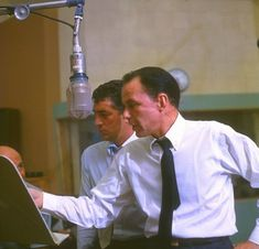 Frank Sinatra and Dean Martin - I know they're singing but they're still classics!