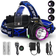 GRDE 3181 3 Modes LED Headlight *** Check this awesome product by going to the link at the image.