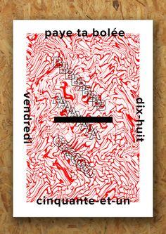 poster / typography // Source: vincentlabas