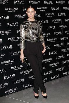 Juana Acosta at Harper's Bazaar Party in Madrid