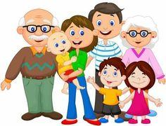 Illustration of Happy cartoon family vector art, clipart and stock vectors. Family Theme, Cute Family, My Family, Happy Family, Fall Family, Family Clipart, Family Vector, Family Picture Clipart, Happy Cartoon