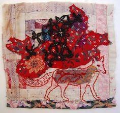 textil art and animal is a good team,inspiring