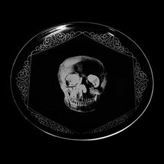 Skull Plate by D.L. & Co