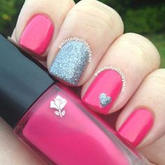 50 Sweet Color of Valentine Nail Designs Ideas #KidsNails