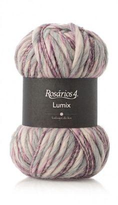 Lumix: 72% acrylic + 15% wool + 9% alpaca + 3% polyester + 1% polyamide.