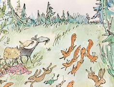 Beatrice and Vanessa - written by John Yeoman, illustrated by Quentin Blake (1974).