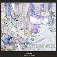 Snowdrift :: Full & Mini Kits :: Memory Scraps