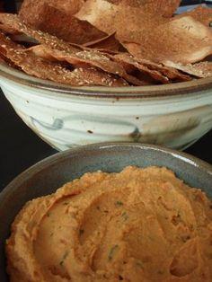 Lavash Crackers - Vegan