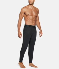 Under Armour - Athlete Recovery Elite Sleep - $99.99 Mens Body Types, Mens Joggers Sweatpants, Sleep Pants, Athletic Men, Famous Brands, Stylish Men, Under Armour, How Are You Feeling, Pajama Pants