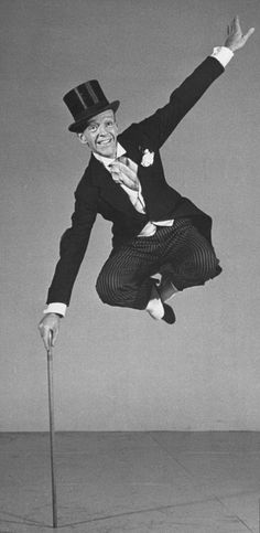 Fred Astaire - MJ got his moves from watching Fred Astaire, undoubtedly one of the greatest dancers and entertainers of the 20th century