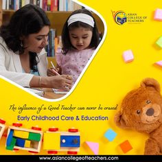 Be an early childhood and enjoy job opportunities globally. Join the Early Childhood Care & Education Program from Asian College of Teachers. For registration and detailed information, log onto our site. Teaching Strategies, Early Childhood Education, Best Teacher, Acting, Join, College, Kids Education, University, Teaching Techniques