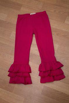 Triple Ruffle Pants   15 Colors   Jane