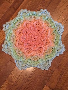 Mandala Madness - Free Pattern on Ravelry ... This one is by H. Bryant