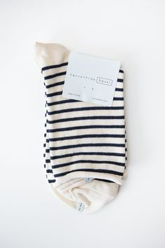 Hansel From Basel Nautical Crew Sock – Parc Boutique