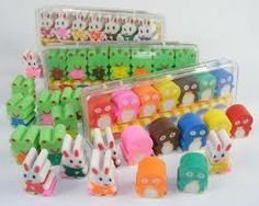 So many erasers ! i'm sure you won't run out ! $$$