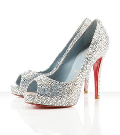 Christian Louboutin 'Very Riche' crystal pumps