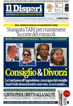 La copertina del 28 luglio 2016 #ischia #ildispari
