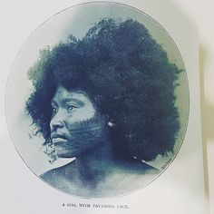 Such a strikingly beautiful young papuan woman from the early 1900's 'A Girl with Tattooed Face, Savage Life in New Guinea Charles W Abel LMS'