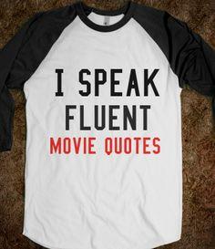 I believe I need this shirt! :)