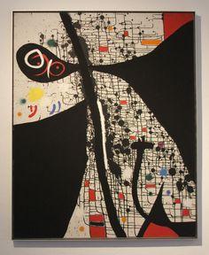 "Joan Miro, ""Birds of the Caves II"" 1971."