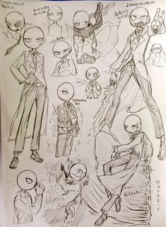 Cartoon Sketches, Art Drawings Sketches Simple, Cartoon Art Styles, Cute Drawings, Sketch Style, Dark Art Illustrations, Drawing Expressions, Art Poses, Drawing Reference Poses