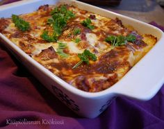 Rice Recipes, Cooking Recipes, Lasagna, Food And Drink, Soup, Favorite Recipes, Meat, Baking, Dinner