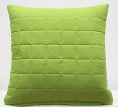 Kvalitné poťahy na vankúše v zelenej farbe Green Cushions, Throw Pillows, Pattern, Handmade, Edinburgh, Instagram, Design, Home Decor, Model
