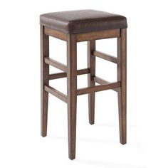 Armen Living Sonata 26 in. Backless Counter Stool - LCSTBAKACH26, AA1023-1