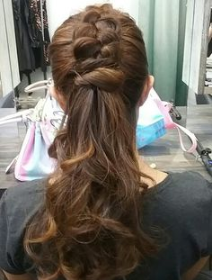 Simple knog hairstyling