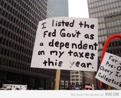 i am not politically whatever, but i would probably hold that sign