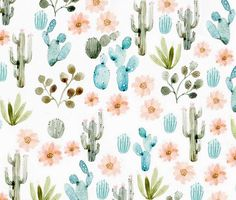 Art print Cactus. Perfect for a gift. 21x29,7 cm  - Print of my original drawing [Sold without frame]. - Printed by a laboratory on a beautiful