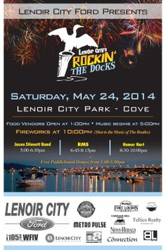 Rockin' the Docks: Memorial Day Celebration and Fireworks Display, Lenoir City TN