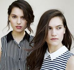 "♥  ""Songwriting and Sisterhood"" Teen sister duo Lily & Madeleine enter the music scene with youthful grace and mature aspirations. Photo credit: ALLISTER ANN"