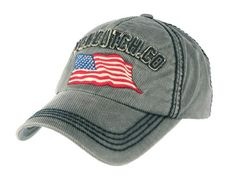 Casquette Von Dutch grise drapeau americain Loris Baseball Hats, Beanie, Gray, Applique Letters, American Fl, Man Women, Toile, Baseball Caps, Beanies
