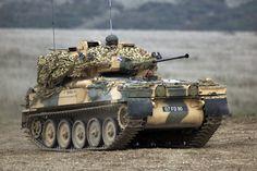 Scimitar light tank
