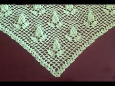 Chal tejido a crochet muy facil / Châle au crochet facile - YouTube