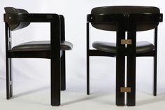 Set of Four Pamplona Dining Chairs by Augusto Savini is part of Furniture design chair - View this item and discover similar dining room chairs for sale at set of 4 dining chair by Augusto Savini 'Pamplona' produced by Pozzi, Italy in 1965 High Back Dining Chairs, 4 Dining Chairs, Cafe Chairs, Dining Room Furniture, Lounge Chairs, Plywood Furniture, Unique Furniture, Dining Room Chair Cushions, Upholstered Chairs